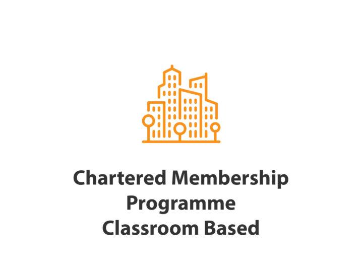 CIOB Chartered Membership Programme-– Classroom based