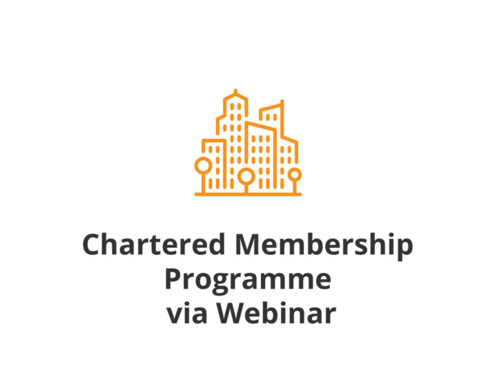 Chartered Membership Programme via Webinar